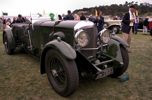 1931 Bentley 8 Litre Vanden Plas Tourer, Axel Schuette Fine Cars GmbH & Co  KG, Oerlinghausen, Germany DSC 2454 -1