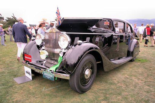 1936 Rolls-Royce Phantom III H J  Mulliner Sports Limousine, Mr  & Mrs  Henry Robet, France DSC 2504 -1