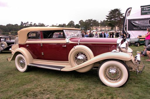 1932 Studebaker President Series 91 Convertible Sedan, George & Valerie Vassos, Westfield, Massachusetts DSC 2529 -1