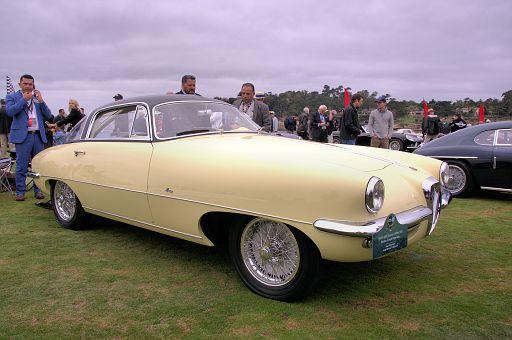 1955 Alfa Romeo 1900 CSS Boano Coupé Speciale, Tony Shooshani, LongBeach, California DSC 2077 -1