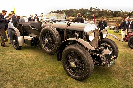 1930 Bentley 4½ Litre SC Vanden Plas Le Mans Sports, Private Collection DSC 2367 -1