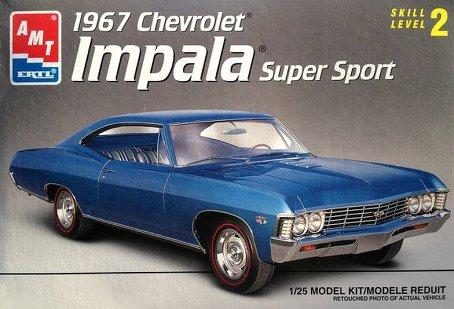 Photo: amt-1967-chevrolet-impala-super-sport | 1961