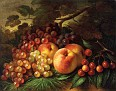 Still Life with Peaches and Grapes [1863]
