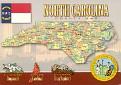 00- Map of NORTH CAROLINA (NC)