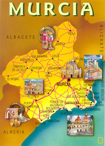 00- Map of Murcia 01