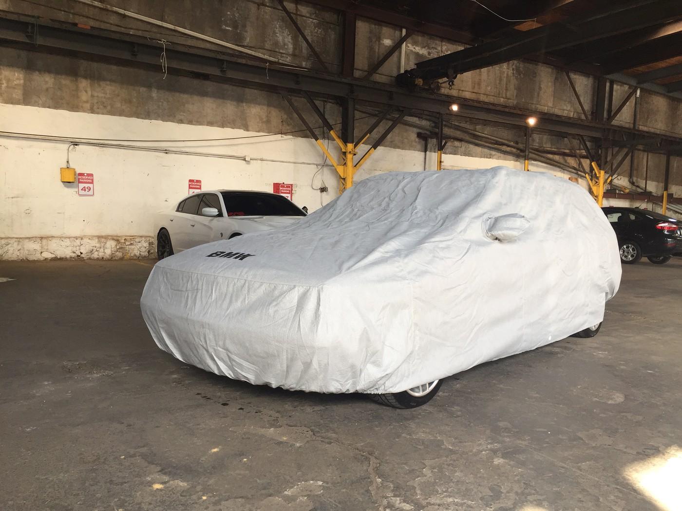Bmw E61 Oem Car Cover On E34 Wagon Touring