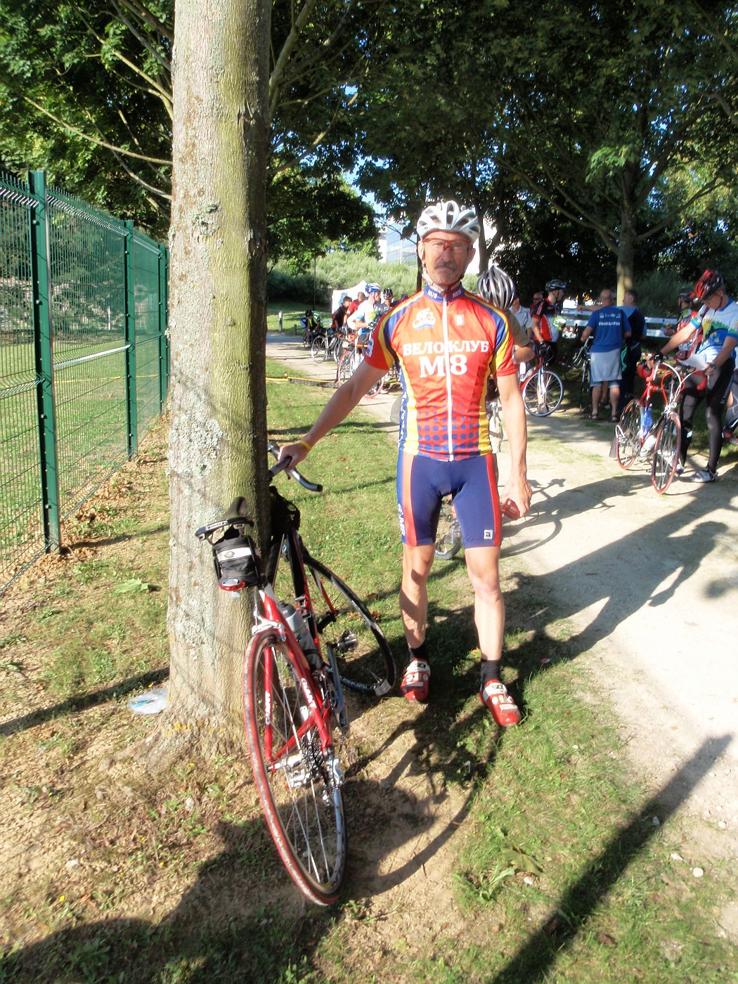 Cycling-friend Alexey from Arkhangelsk / Russia