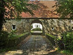 Eingangsbrücke Wasserschloss Reelkirchen