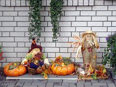 Halloween und Erntedank gefeiert
