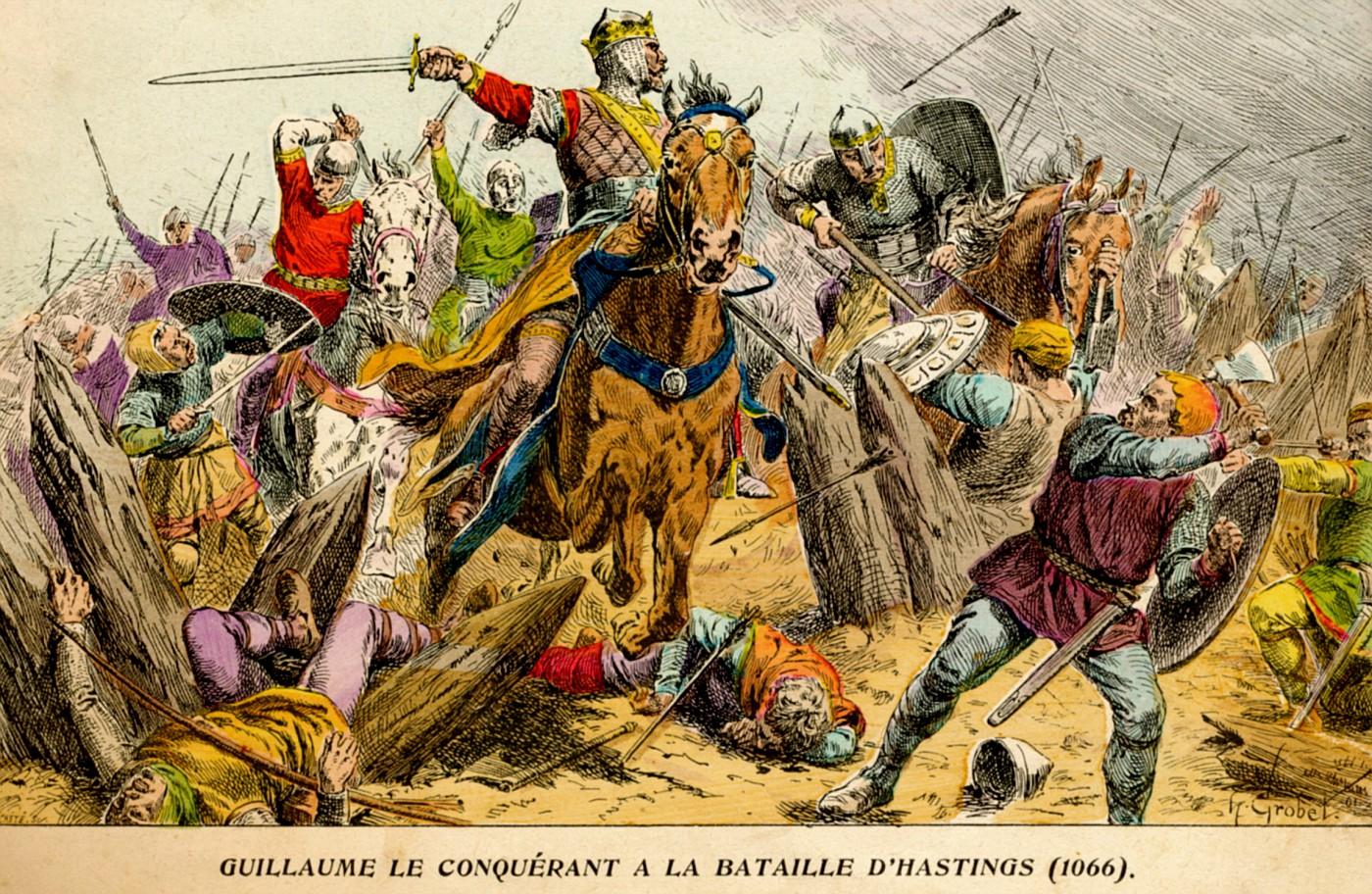Photo: 1902 Grobet 1066 Guillaume le Conquerant a la ...