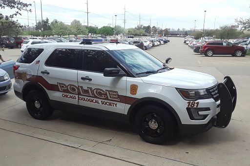 IL- Brookfield Zoo Police 2016 Ford Explorer