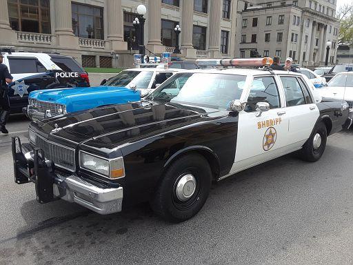 CA- LA County Sheriff 1989 Chevy