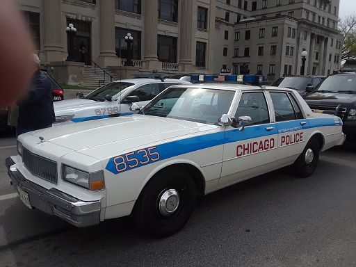 Chicago PD 1990 Chevy Caprice