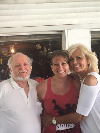#12-Billy Ray Hutson, Trina, and Linda Gail HUTSON Clark - 2017