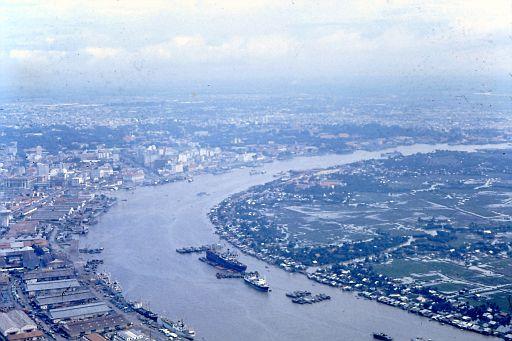 5-River at Ben Soi, Siagon area, South Vietnam