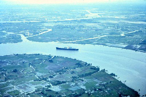 6-Ship on the Ben Soi River, South Vietnam