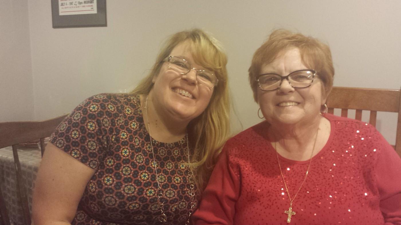Debbie and Linda