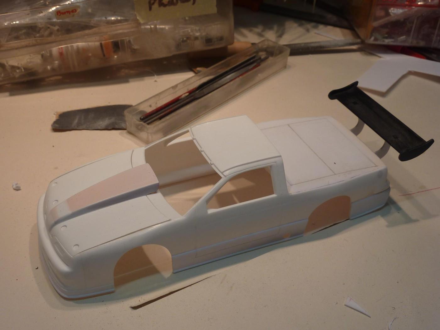 Ford T Bird Pickup racer Bonneville ( Ex Nascar) terminée  Photo15-vi