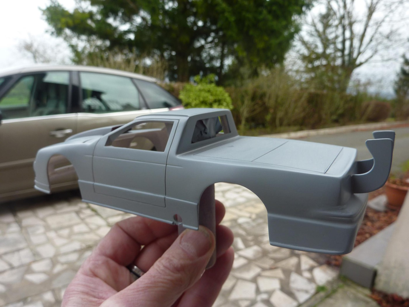 Ford T Bird Pickup racer Bonneville ( Ex Nascar) terminée  Photo21-vi