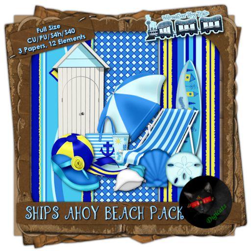 W4E Ships Ahoy CU Beach Pack