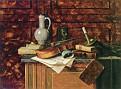 Dutch Jar and a Bust of Dante [1885]