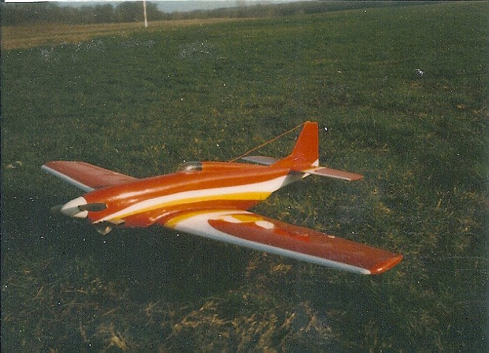 5 First Reno P-51 from plans