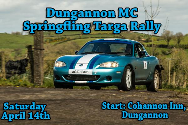 Dungannon MC Sprigfling Targa Rally Springfling2018-vi