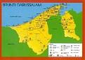 01- Map of Brunei Darussalam