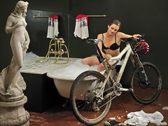 Does the bike not need an extra towel? :o)