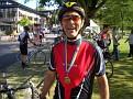 Stolzer Robert mit Medaille