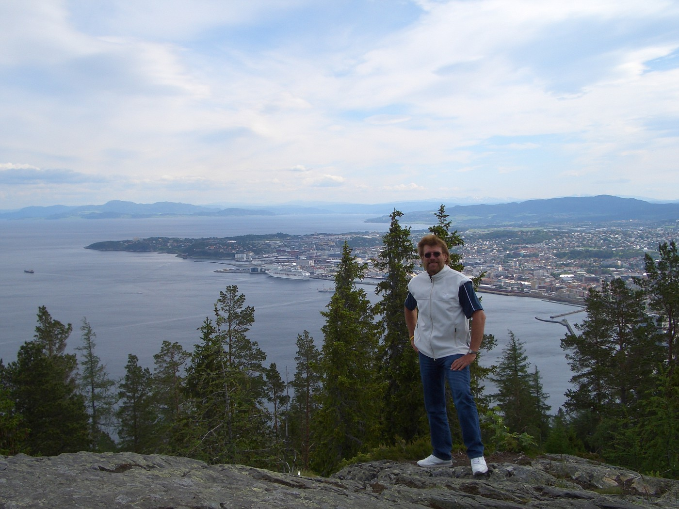 Manfred am Trondheim-Fjord