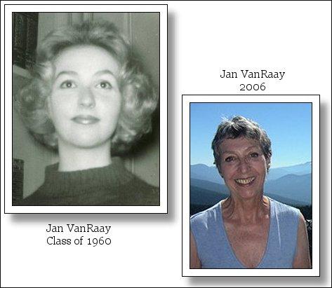 Jan VanRaay Class of 1960