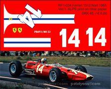 RF1-034 Ferrari 1512 Nart 1965 ver 1