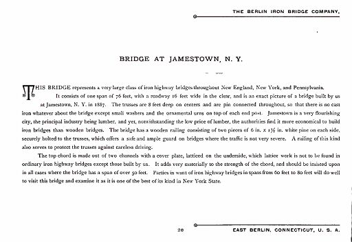 BERLIN IRON BRIDGE CO  - PAGE 028