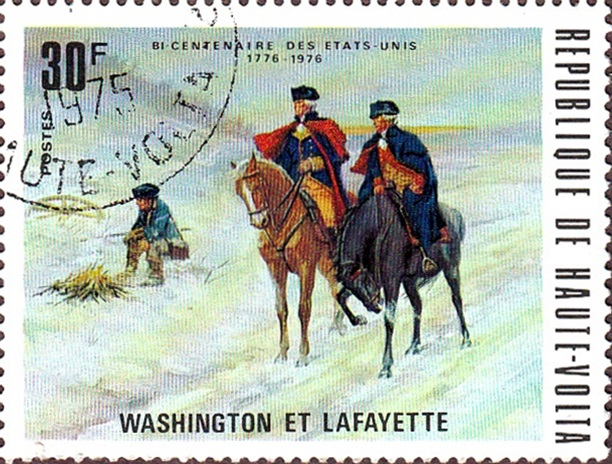 Haute-Volta 1976 Washington & Lafayette