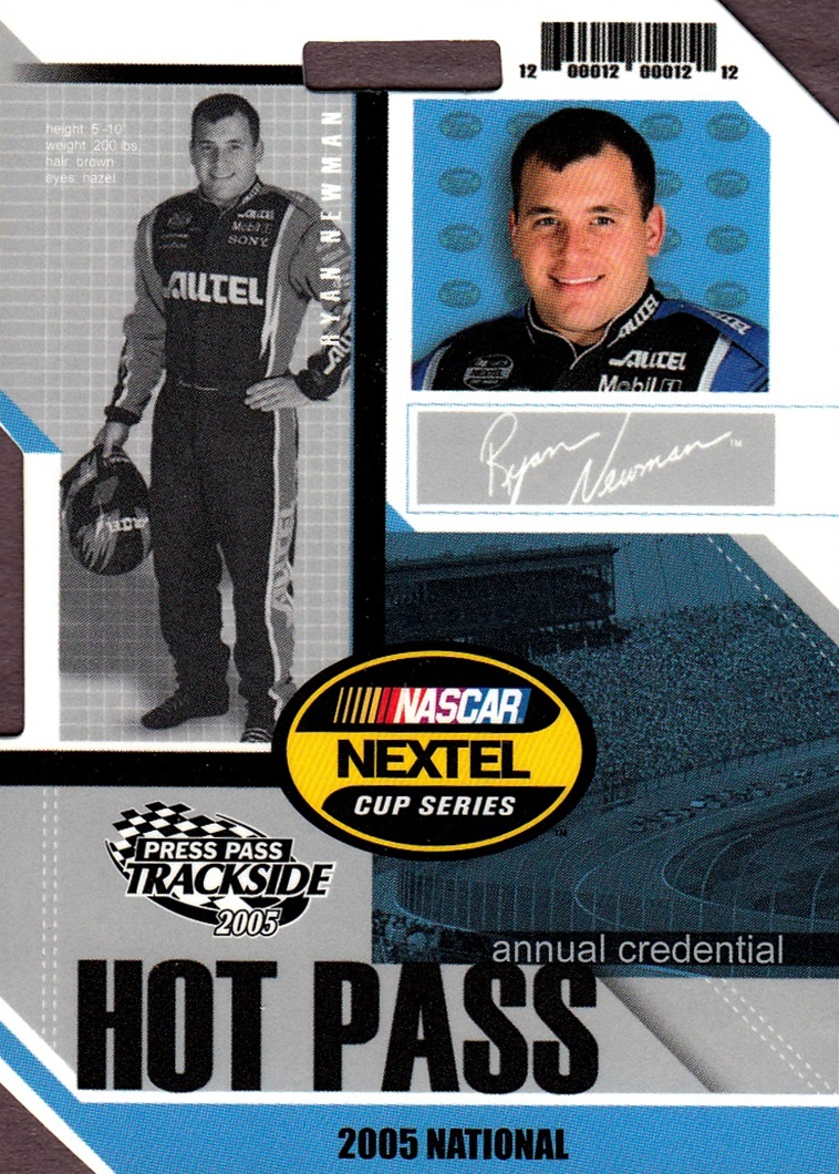 2005 Trackside Hot Pass National #HP12 (1)