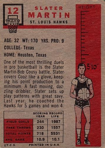 1957-58 Topps #12 (2)