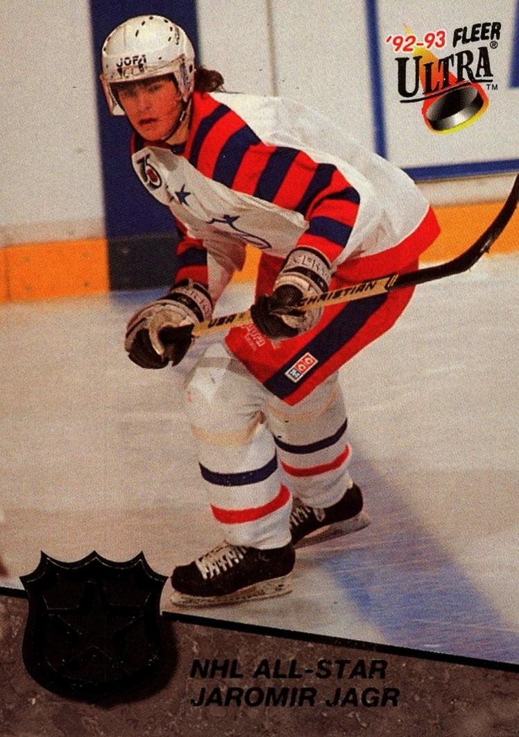 1992-93 Ultra NHL All-Stars #06 (1)