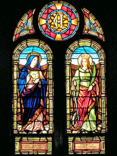 SAINT ANN'S CHURCH - STAINED GLASS - 45