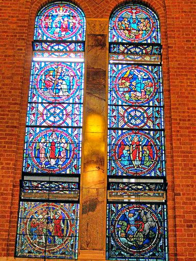 SAINTS PETER AND PAUL CHURCH - STAINED GLASS - 02