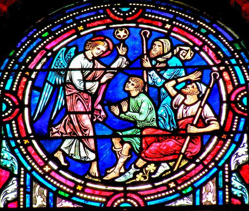 SAINTS PETER AND PAUL CHURCH - STAINED GLASS - 12