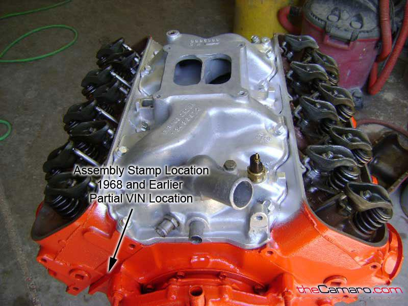 Gm Engine Block Casting Numbers Location ✓ All About Chevrolet