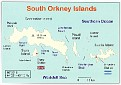 South Orkney Islands Map