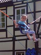 Kinderspaß auf dem Marktplatz