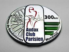 Medaille 300 km