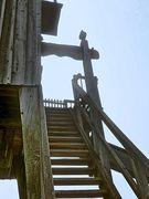 Treppe der Bockwindmühle