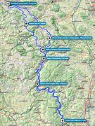 Route - 300 km