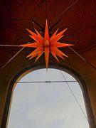 Über der Kuppel der Frauenkirche