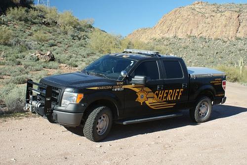AZ- Maricopa County Sheriff 2014 Ford F150