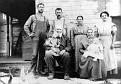 Levi and Permilia Grove family